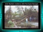 john gunters residence after hurricane georges