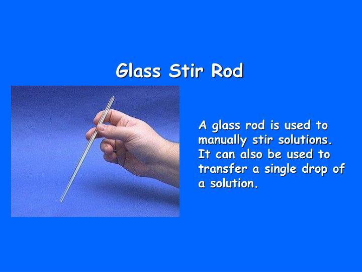Glass Stir Rod
