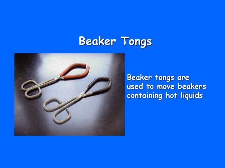 Beaker Tongs