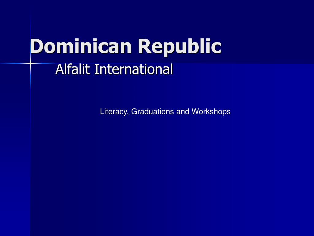 dominican republic l.
