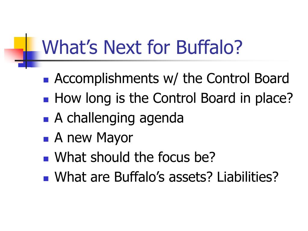 What's Next for Buffalo?