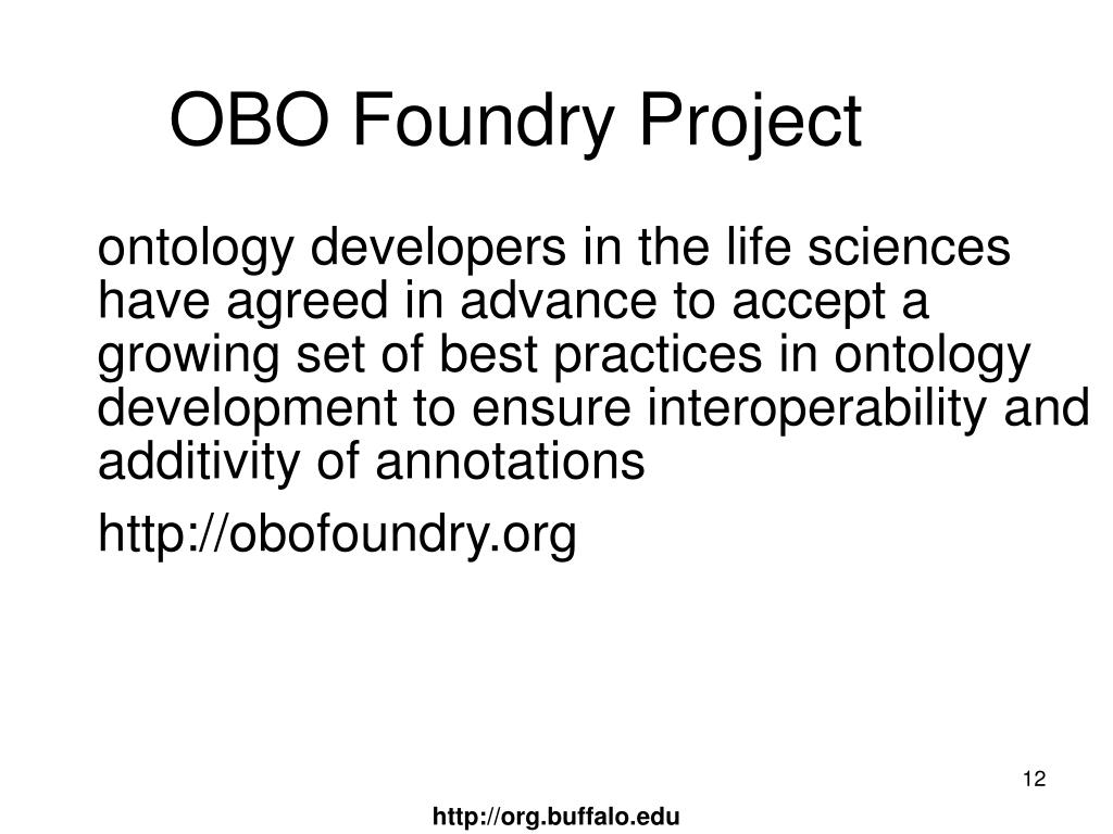 OBO Foundry Project