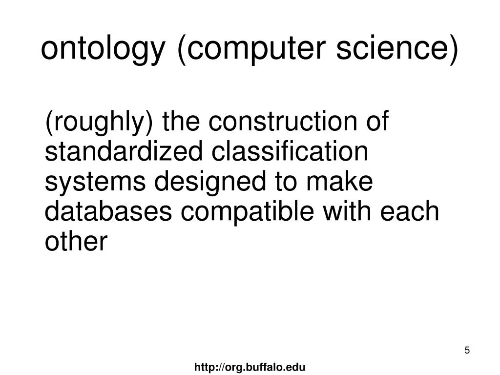 ontology (computer science)