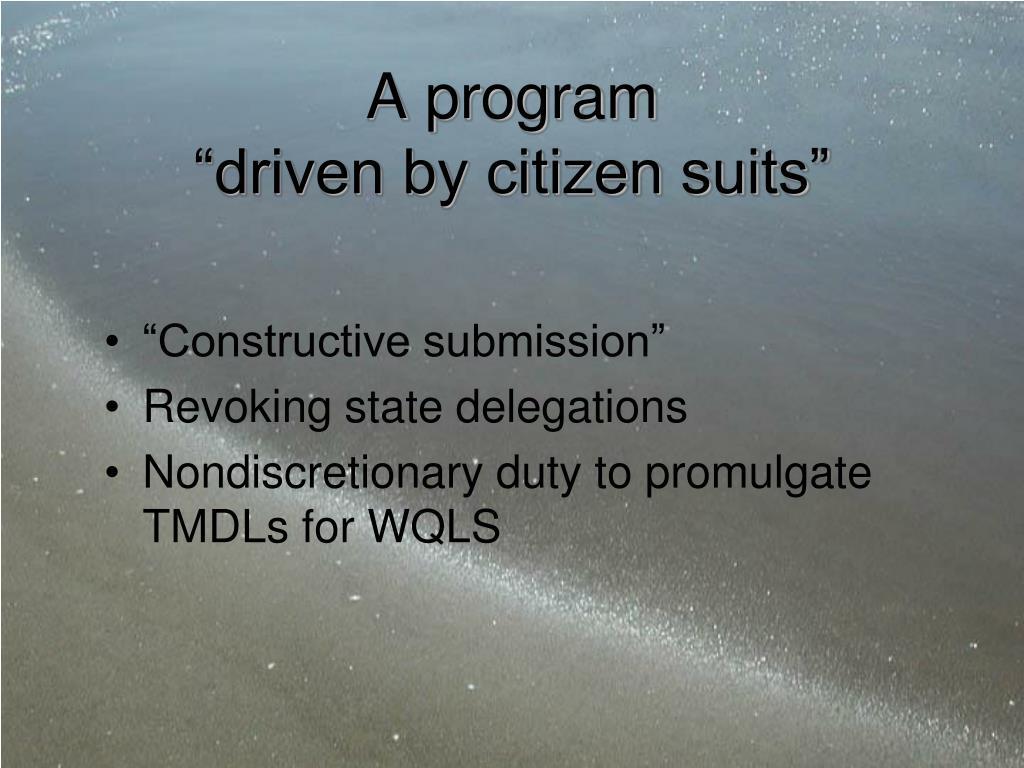 A program