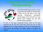 national football championship