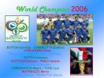 world champion 2006