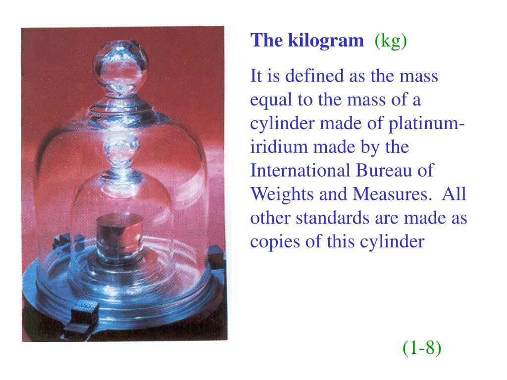 The kilogram