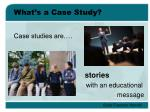 what s a case study