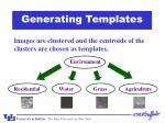 generating templates