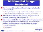 multi modal image retrieval