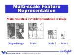 multi scale feature representation