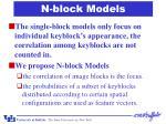 n block models