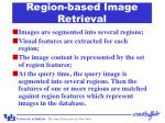 region based image retrieval33