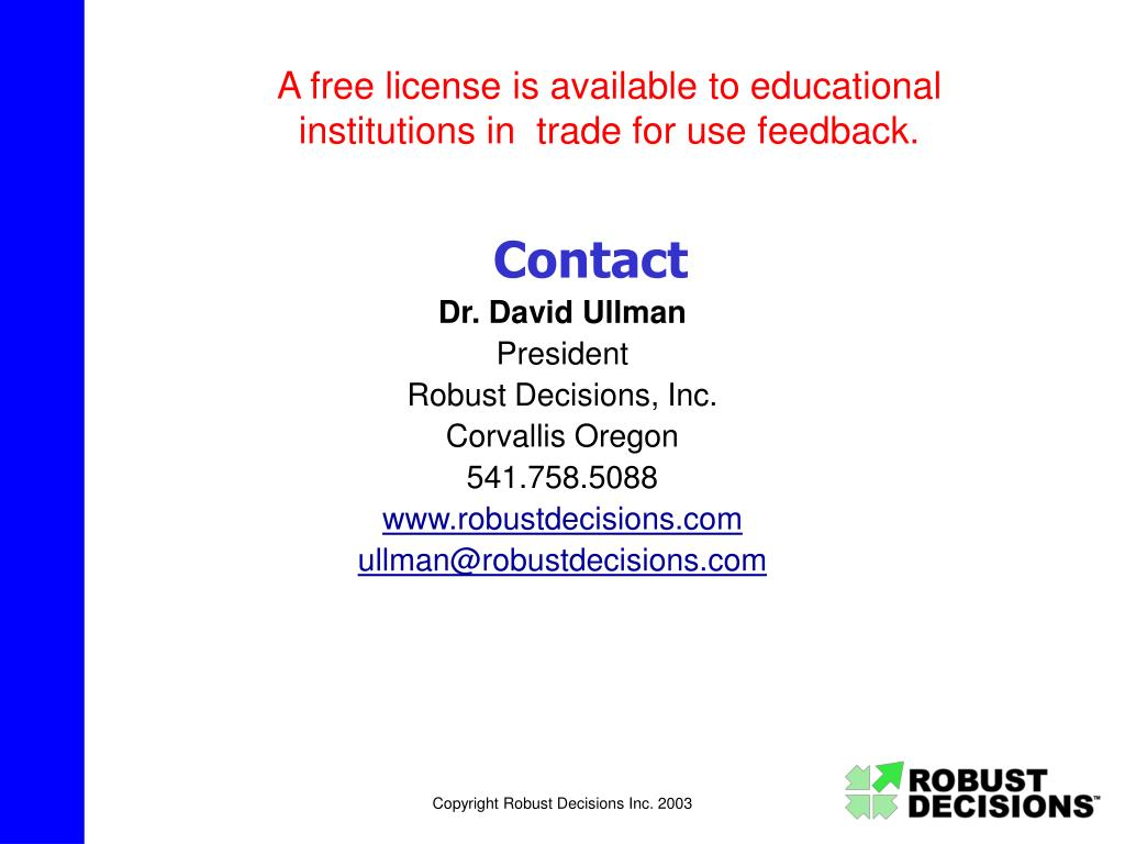A free license is available to educational institutions in  trade for use feedback.