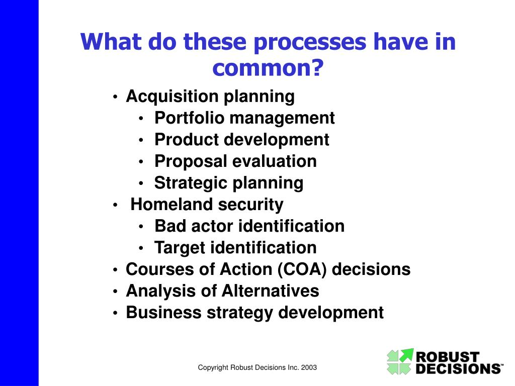 What do these processes have in common?