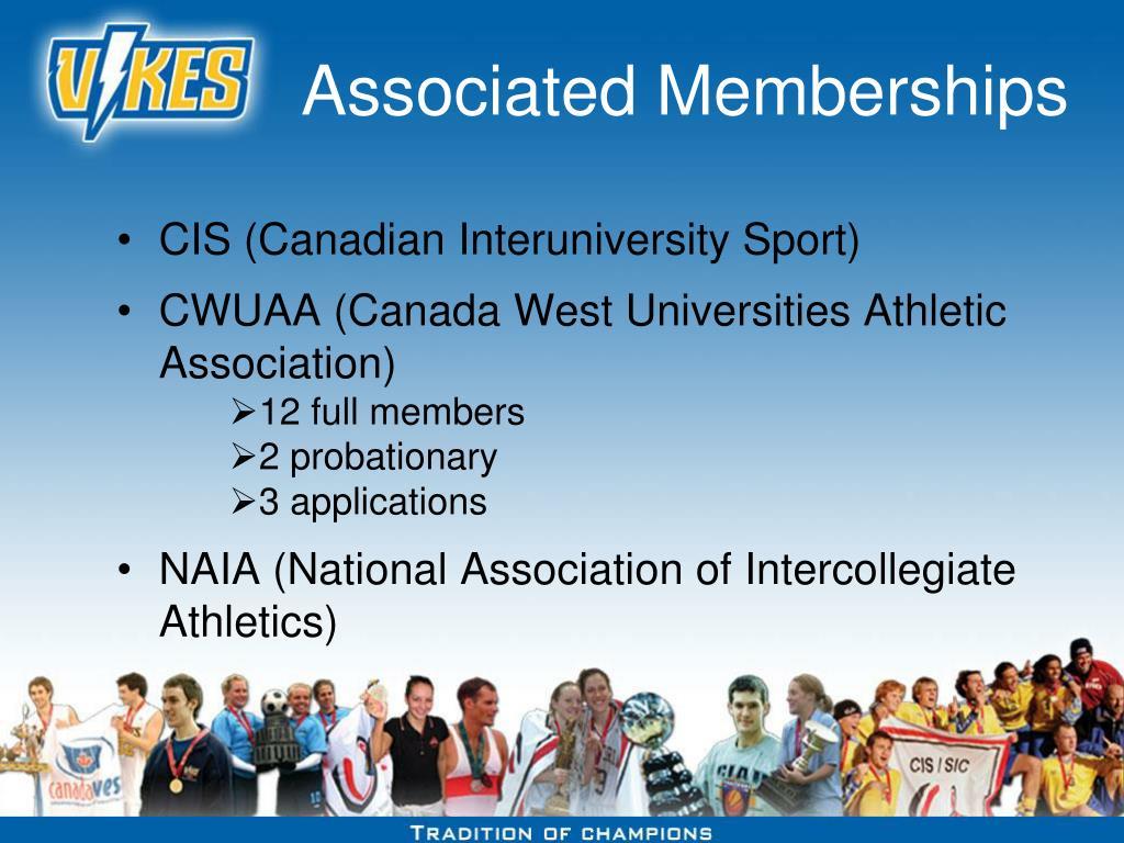 Associated Memberships