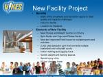 new facility project23