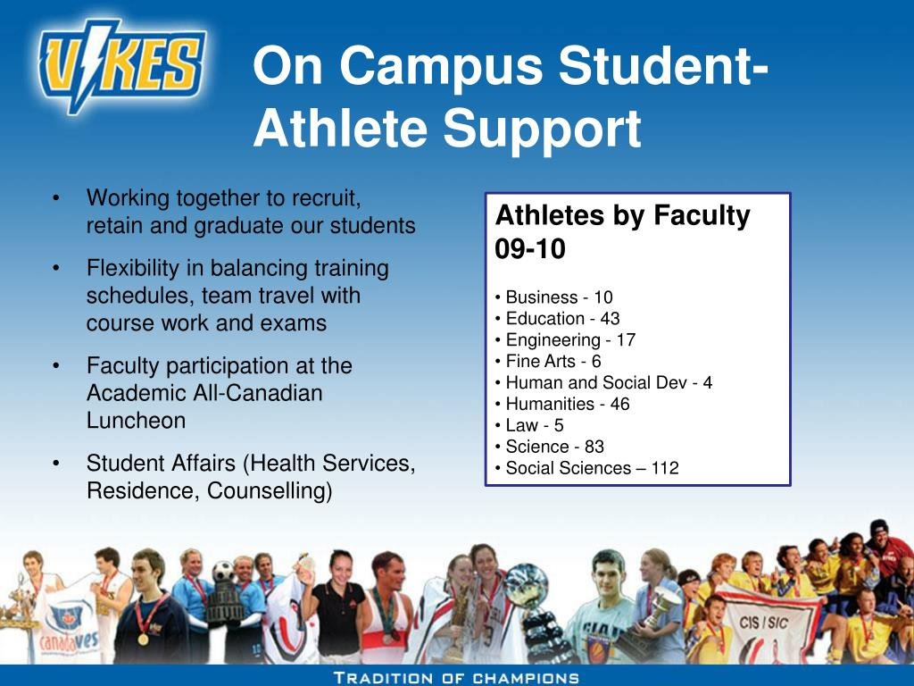 On Campus Student-Athlete Support