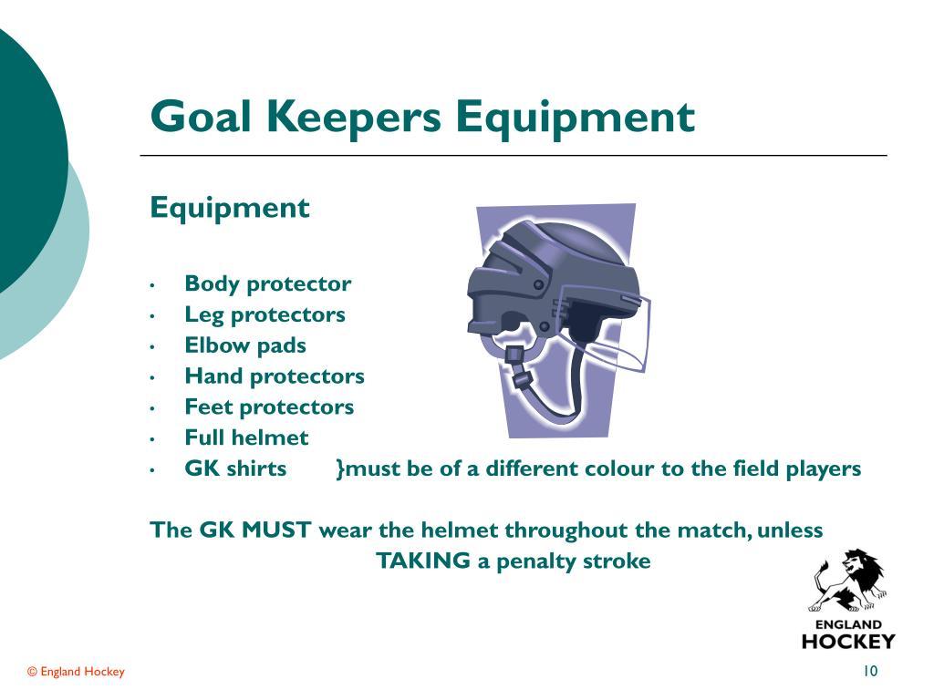 Goal Keepers Equipment