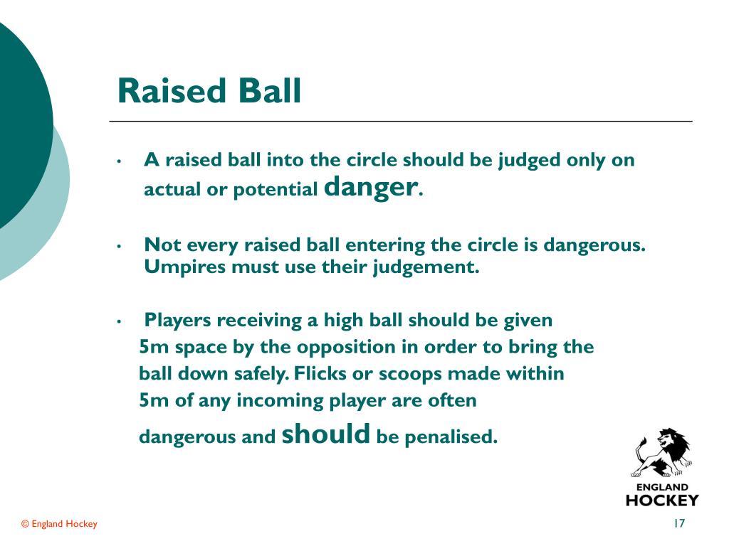Raised Ball