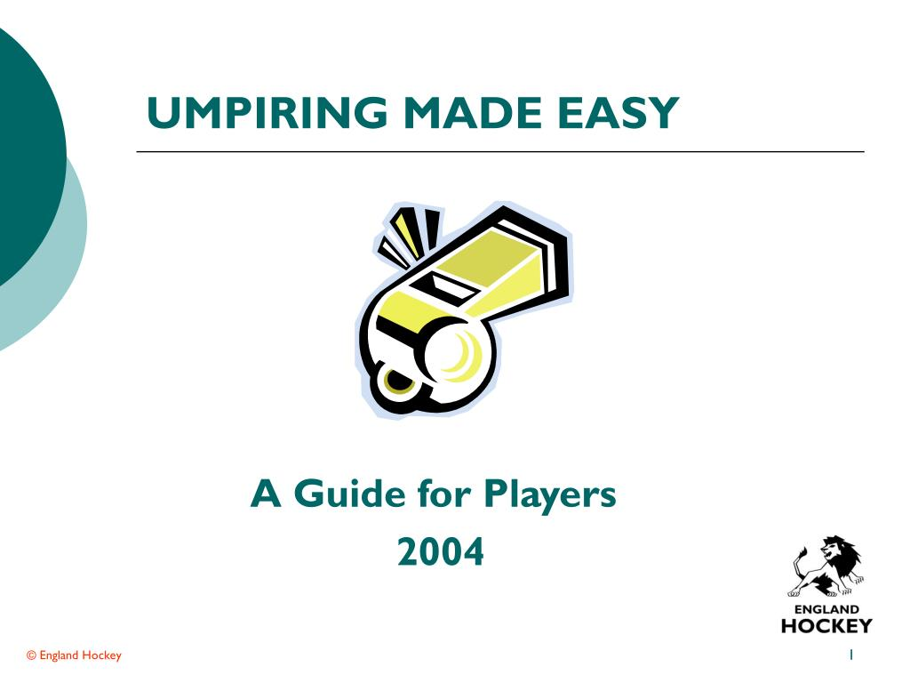 umpiring made easy l.