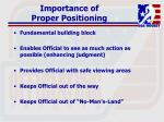 importance of proper positioning85