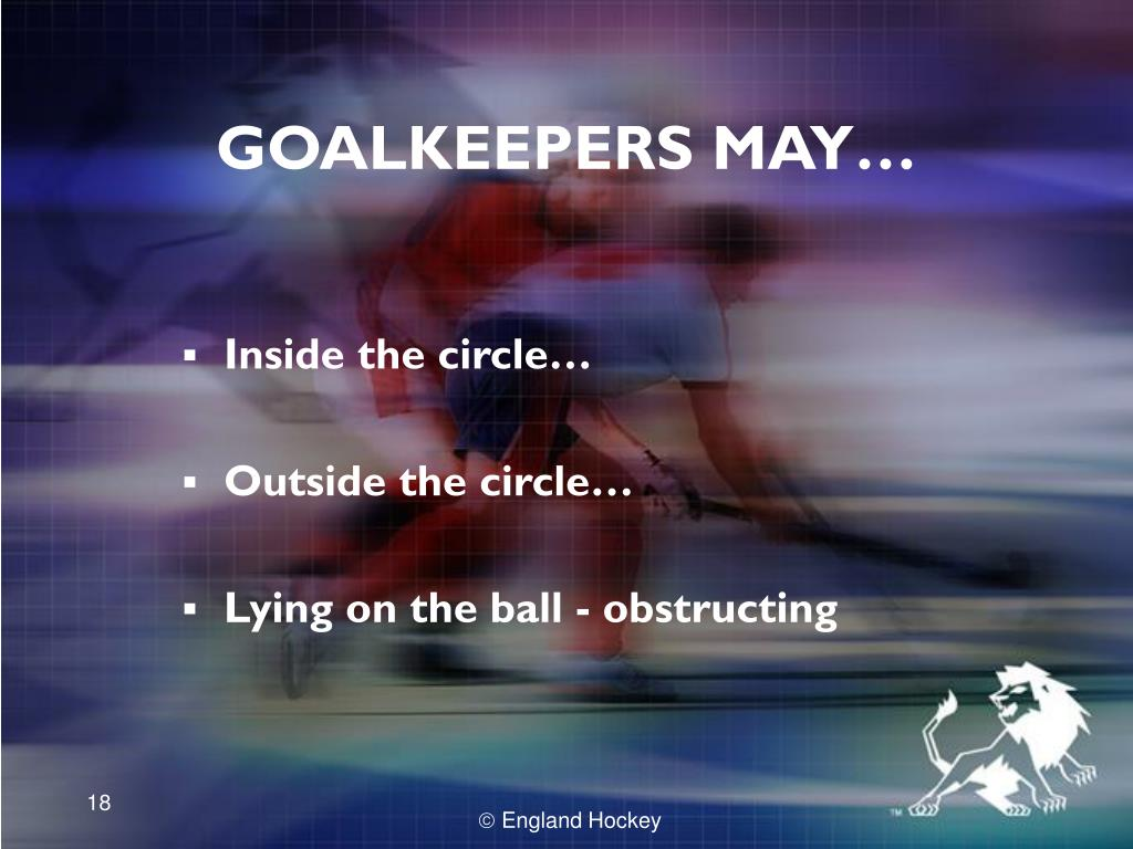 GOALKEEPERS MAY…