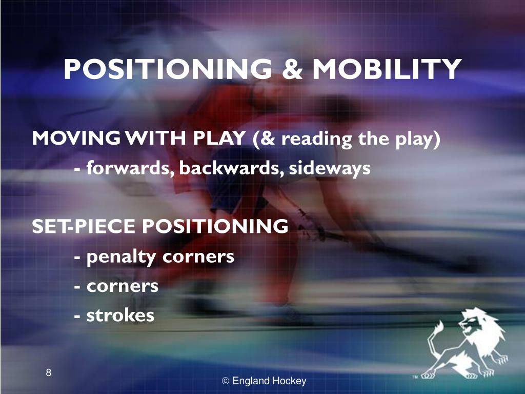 POSITIONING & MOBILITY