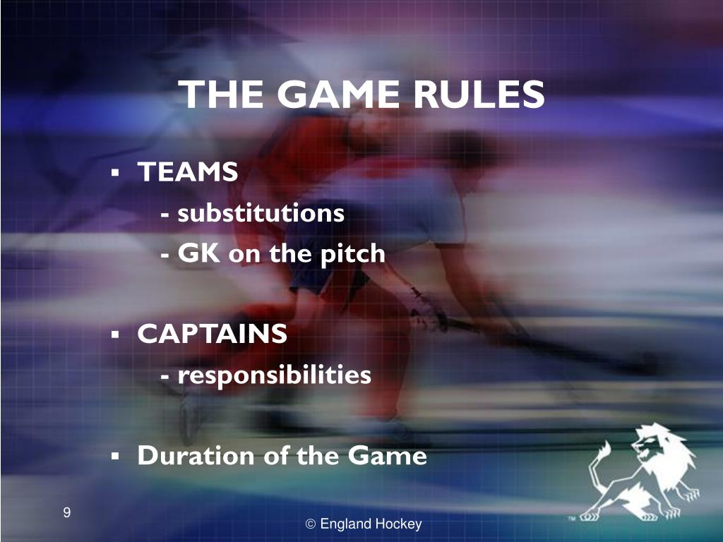 THE GAME RULES