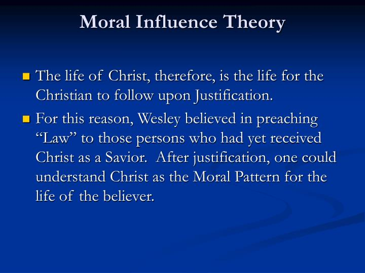 Moral Influence Theory