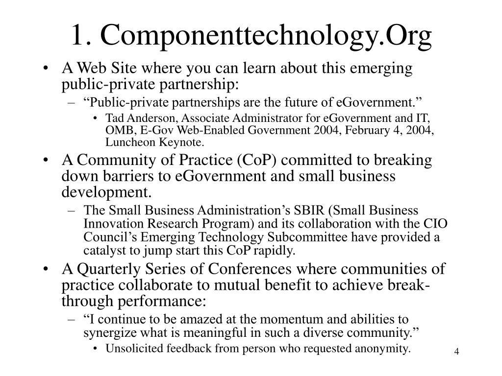 1. Componenttechnology.Org