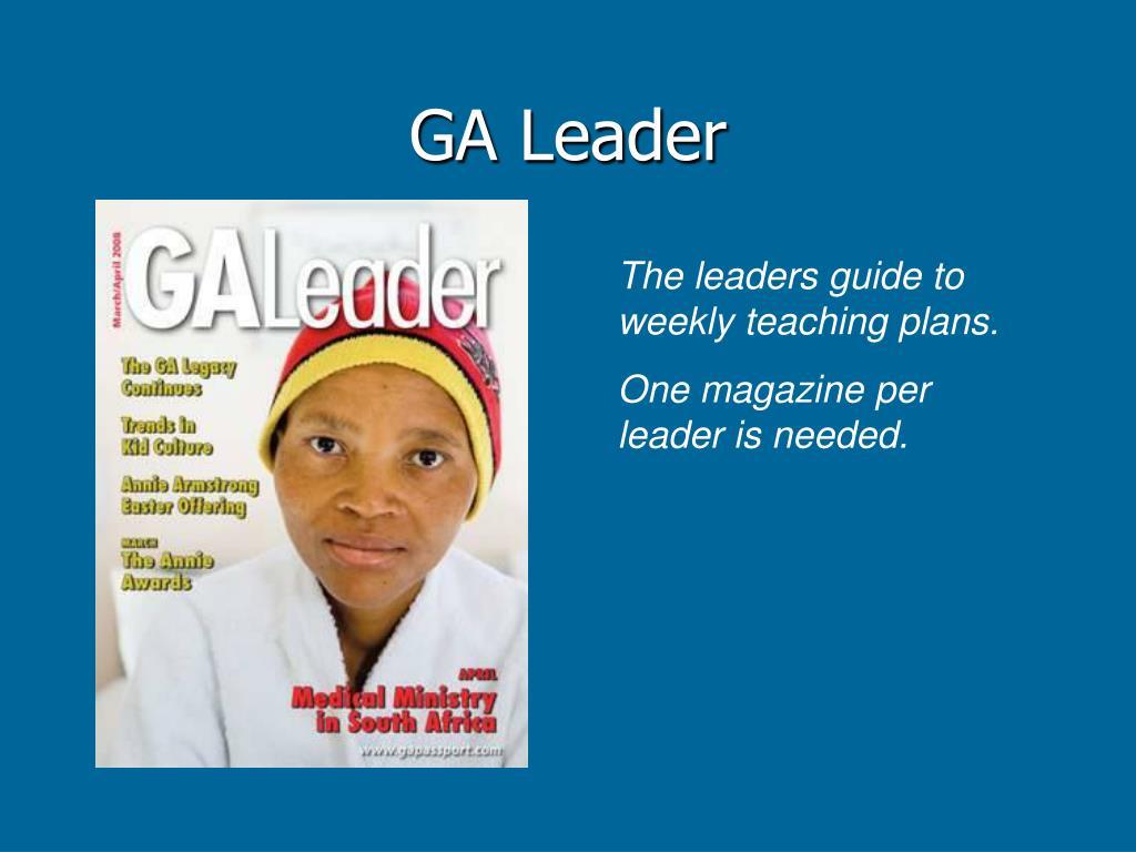 GA Leader