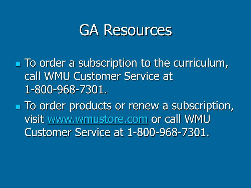 GA Resources
