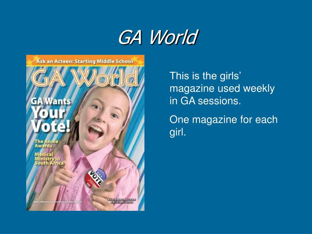GA World