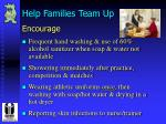 help families team up