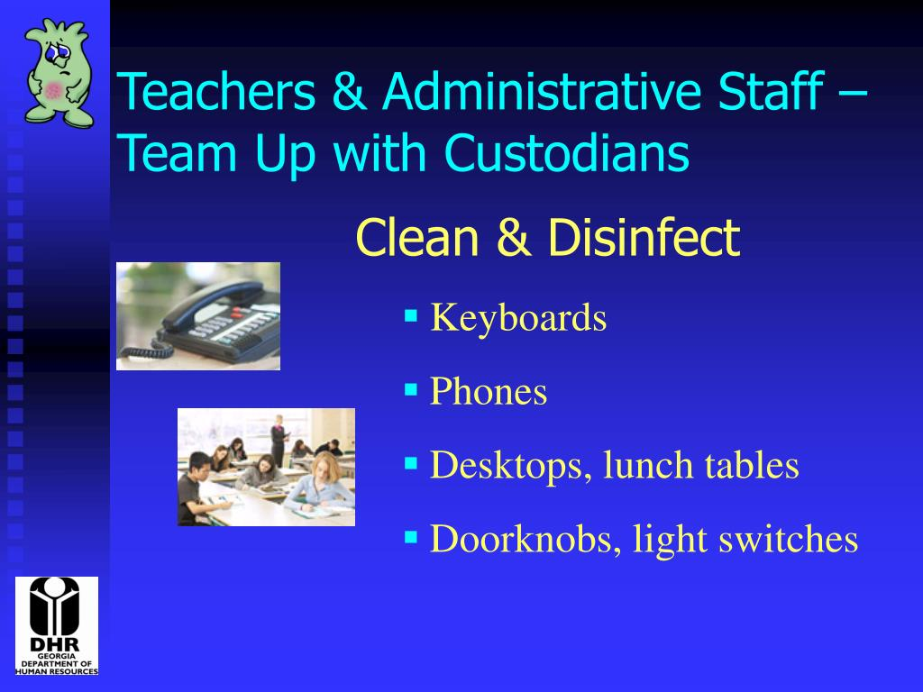 Teachers & Administrative Staff –