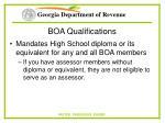 boa qualifications94