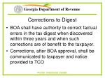 corrections to digest78