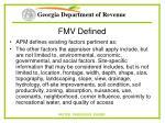 fmv defined10