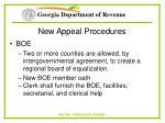 new appeal procedures60