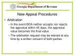 new appeal procedures67