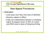 new appeal procedures69