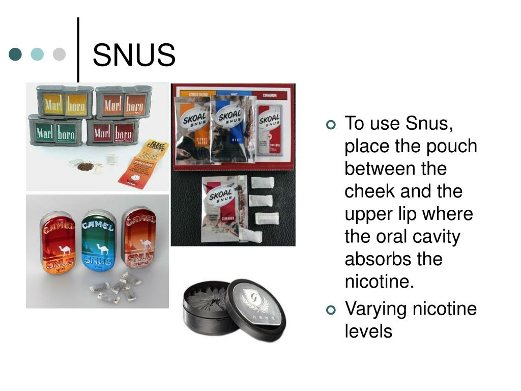 PPT - Latest Trends in Smokeless Tobacco PowerPoint Presentation