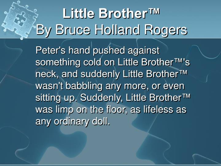 Little Brother™