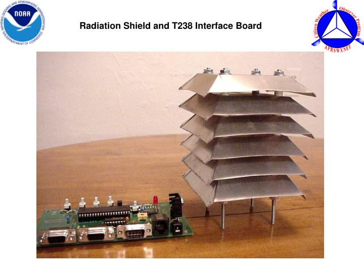 Radiation Shield and T238 Interface Board