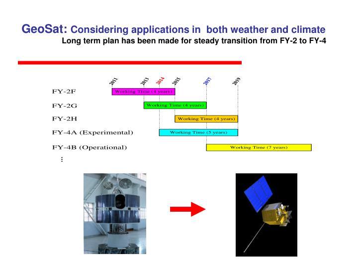 GeoSat: