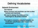 defining vocabularies8
