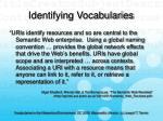 identifying vocabularies18