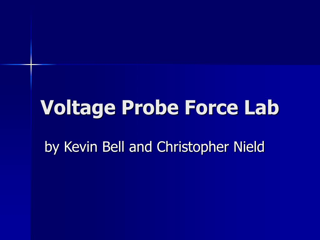 voltage probe force lab l.