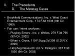 ii the precedents d the metatag cases